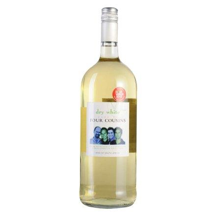 【清仓】南非四兄弟芳香干白葡萄酒1500ml