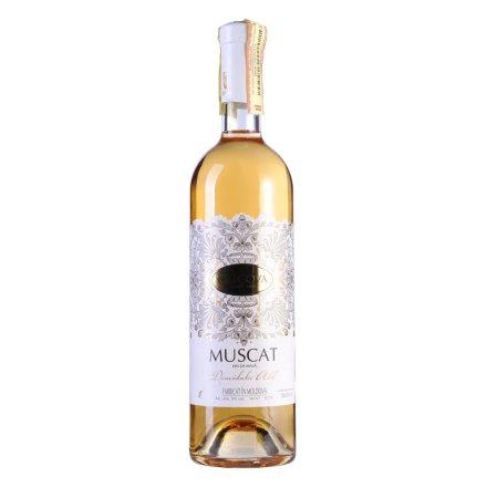 摩尔多瓦·克里克瓦酒庄花边系列莫斯卡托半甜白葡萄酒(促销品)