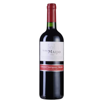 智利迈坡赤霞珠美乐干红葡萄酒
