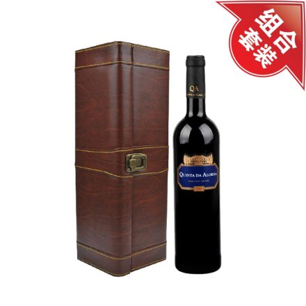 金碧宫2008干红葡萄酒+皮盒酒具单支装