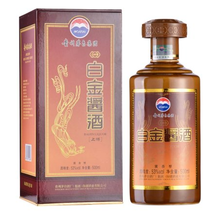53°茅台集团白金酱酒(上将)500ml
