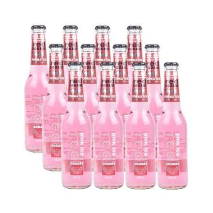 红广场粉冰预调酒水蜜桃味270ml(12瓶装)