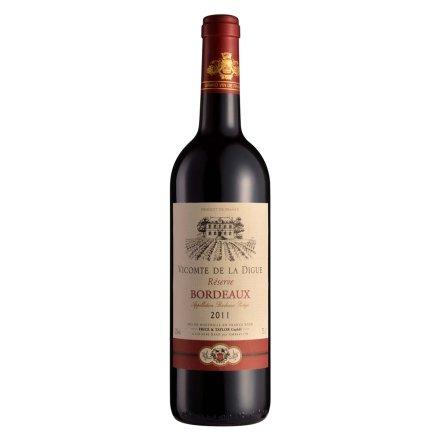 【清仓】法国波尔多维康德AOC干红葡萄酒750ml