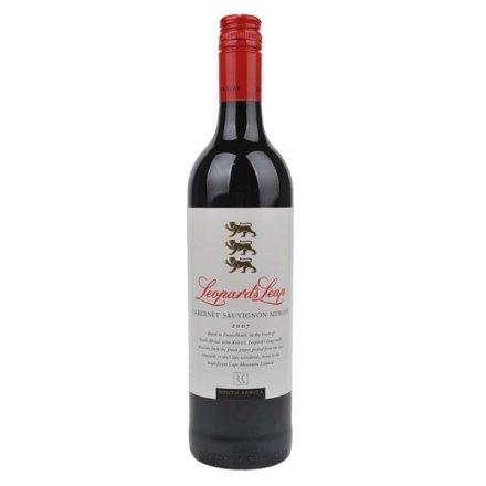 (清仓)南非猎豹庄加本纳梅乐红葡萄酒