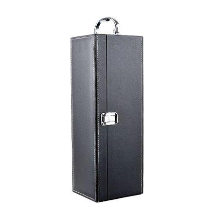黑色单支皮盒