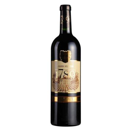 法国1789波尔多城堡红葡萄酒