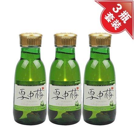 (清仓)14°韩国雪中梅青梅味利口酒375ml(3瓶装)