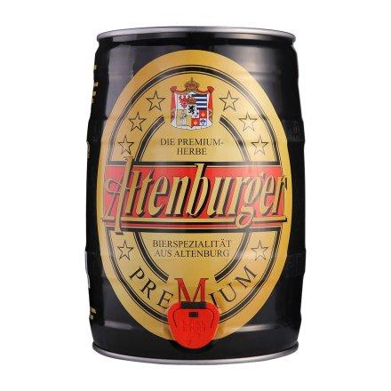 德国阿登堡黄啤酒5L