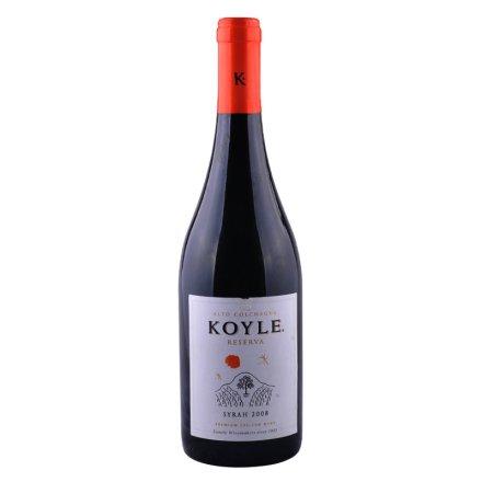 智利柯莱窖藏西拉干红葡萄酒750ml