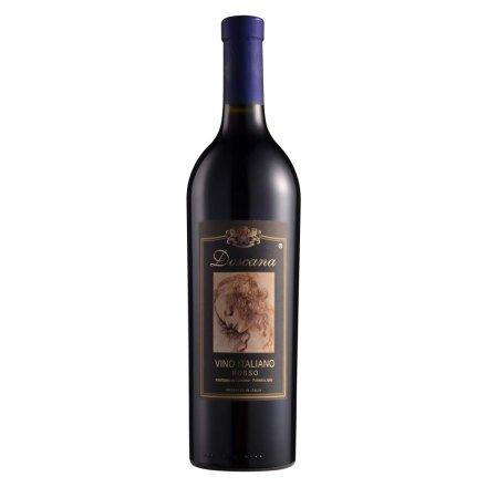 【清仓】意大利多斯卡纳干红葡萄酒(黑标)750ml