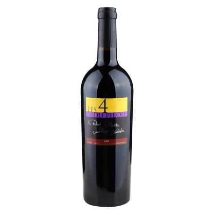 【清仓】法国菲图四色带干红葡萄酒