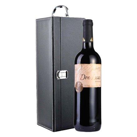 西班牙唐卢卡干红葡萄酒黑色礼盒装