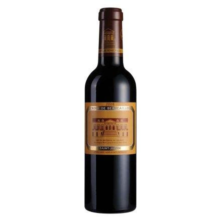 法国宝嘉龙副牌红葡萄酒375ml