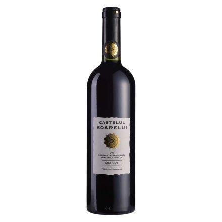 【清仓】罗马尼亚湖西酒庄阳光城堡系列梅乐干红葡萄酒(2010)750ml