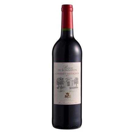 【清仓】法国博纳赤霞珠干红葡萄酒750ml