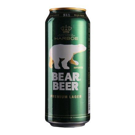 德国哈尔博绿熊啤酒500ml
