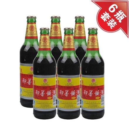 (清仓)8.5°即墨黄酒祥和470ml(6瓶装)