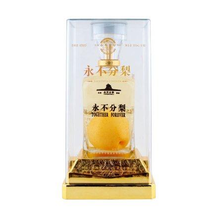 40°永不分梨方瓶晶玻盒900ml(含梨)