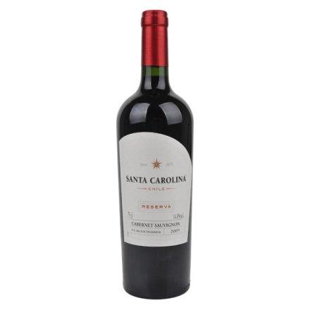 (清仓)智利圣卡罗珍藏加本纳沙威浓红葡萄酒