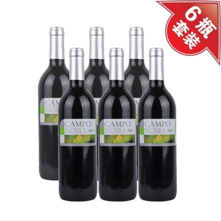 西班牙贵族田园干红葡萄酒(6瓶装)