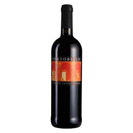 意大利波尔图贝尔半干型红葡萄酒
