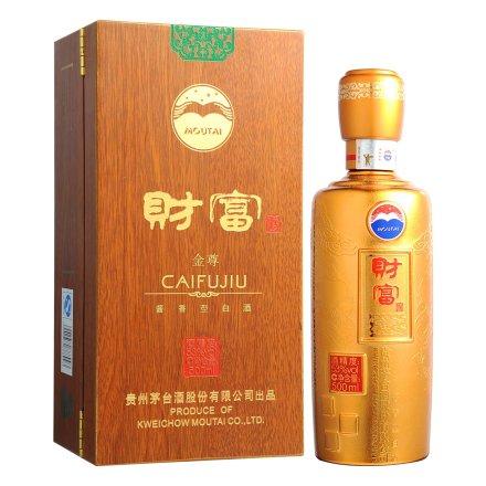 【清仓】【老酒特卖】53°茅台财富酒(金尊)500ml