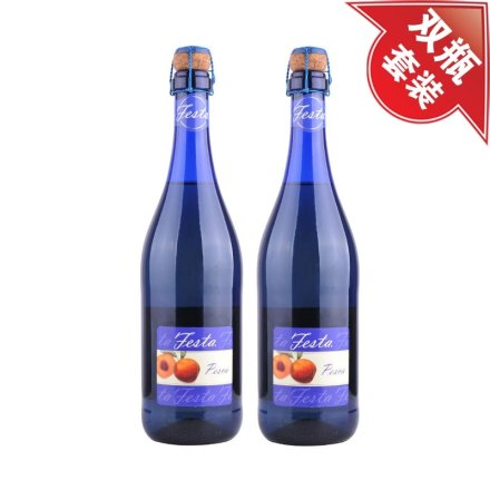 意大利菲丝她蓝冰低醇起泡葡萄酒(鲜桃味)(双瓶装)