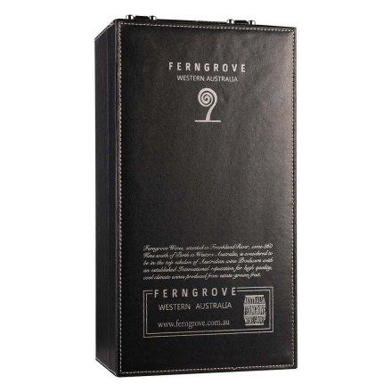 芬格富双支皮盒黑色