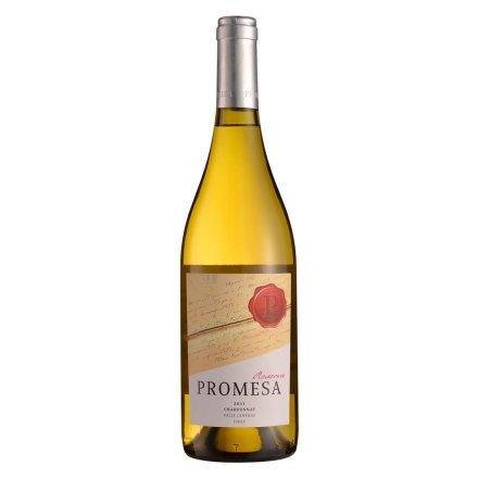 智利普罗米萨窖藏霞多丽干白葡萄酒750ml