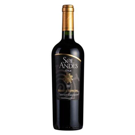 智利安第斯太阳赤霞珠限量珍藏红葡萄酒