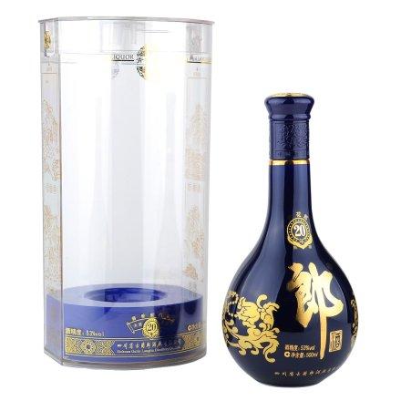 53°二十年青花郎酒500ml
