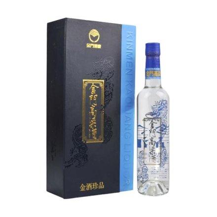 (清仓)38°金酒珍品蓝金龙500ml+42°杜康老字号2000 500ml(双瓶套装) 送 花悦白葡萄酒