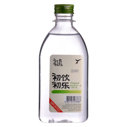 19°韩国初饮初乐200ml