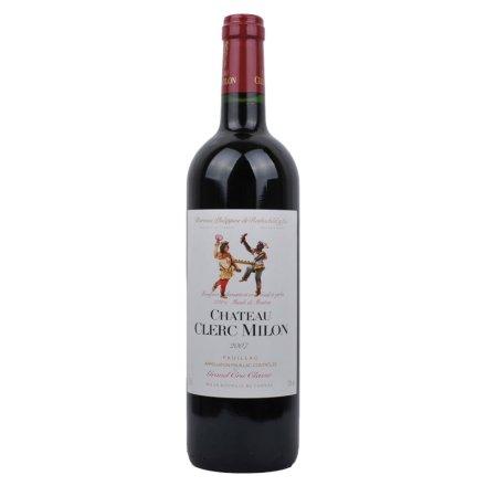 法国木桐米隆干红葡萄酒2007 法国波尔多列级酒庄酒