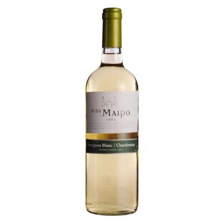 智利迈坡长相思霞多丽干白葡萄酒