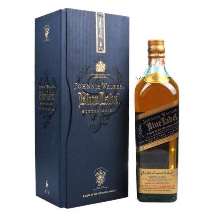 (清仓)40°英国尊尼获加蓝方威士忌750ml 原瓶原装进口