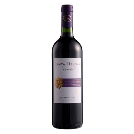 智利圣海莲娜卡曼尼干红葡萄酒750ml