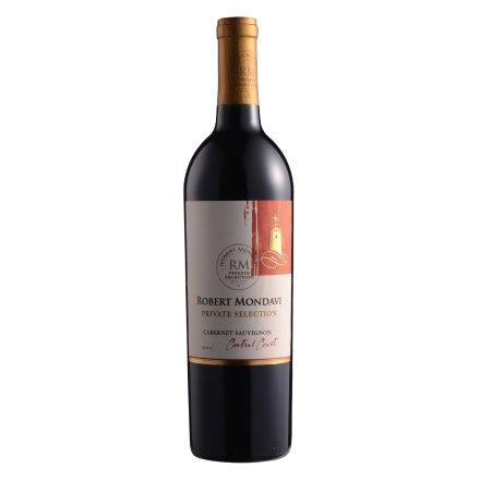 美国加州蒙大菲酒园私家精选赤霞珠红葡萄酒750ml