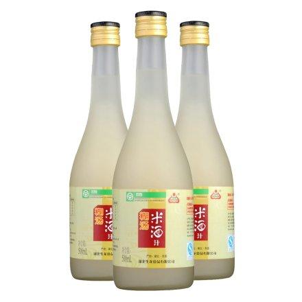 0.5°糊汤米酒汁500ml(3瓶装)