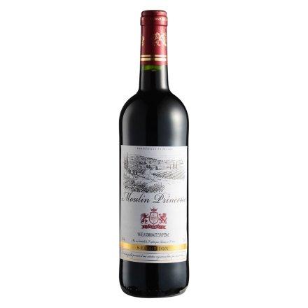 【清仓】法国精选姆兰公主红葡萄酒750ml