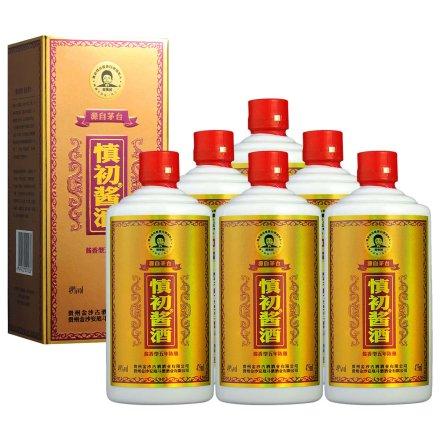 49°慎初酱酒5年 475ml(6瓶装)