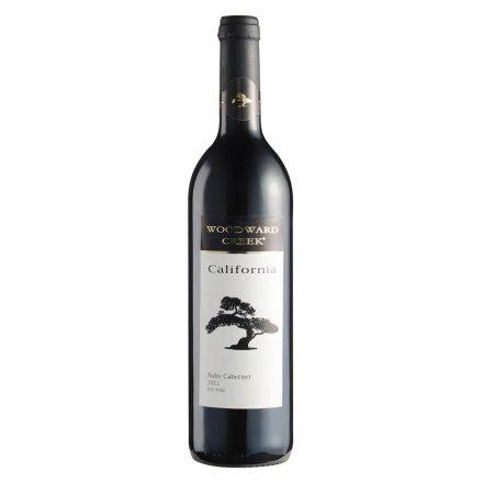 美国伍顿沃德湾宝石卡本内红葡萄酒750ml
