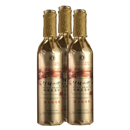7°低糖蓝莓酒750ml(3瓶装)