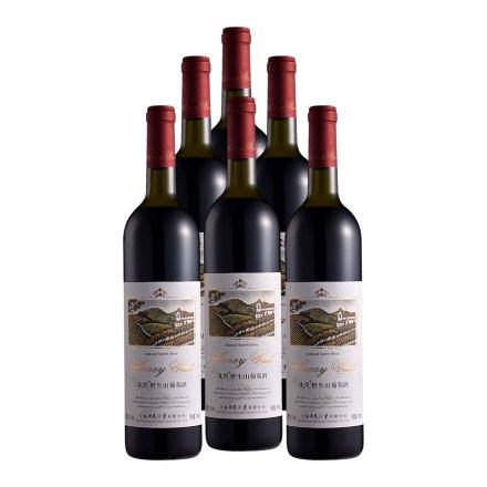液问野生山葡萄酒750ml(6瓶装)