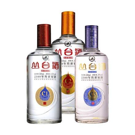 42°丛台酒(C1)500ml+41°丛台酒(C2)500ml+39°丛台酒(C3)500ml