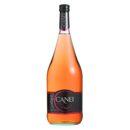 【清仓】意大利圣霞多肯爱Canei玫瑰红半甜微起泡葡萄酒1500ml