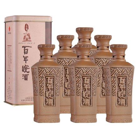 42°百年皖酒十年125ml(6瓶装)