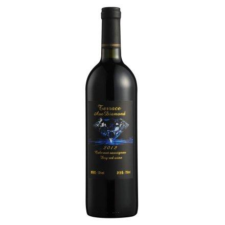 12°德洛斯蓝钻干红葡萄酒750ml