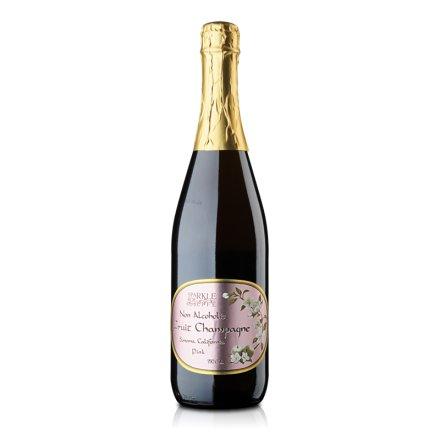 美国加州无醇粉红果槟750ml