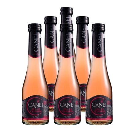 意大利圣霞多肯爱玫瑰红低泡葡萄酒200ml(6瓶装)
